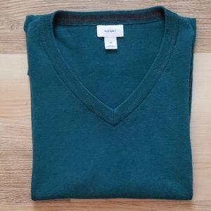 Old Navy Teal V Neck Sweater